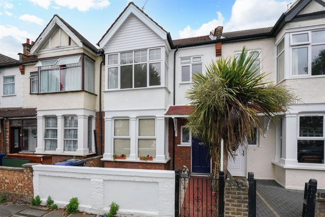 Thumbnail Terraced house to rent in Camborne Avenue, London