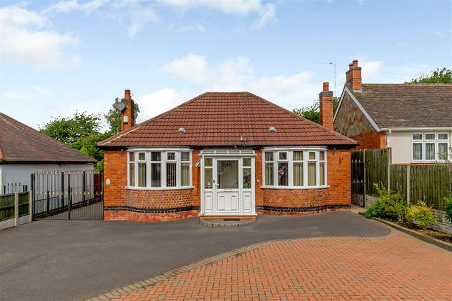 Thumbnail Bungalow for sale in Wood Lane, Newhall, Swadlincote