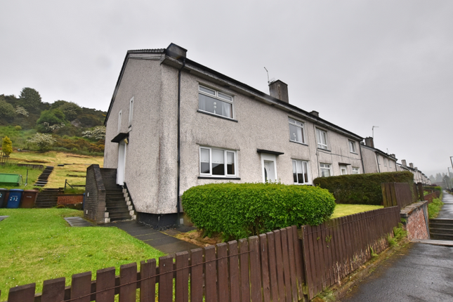 Thumbnail 2 bedroom flat for sale in 280 Grieve Road, Greenock
