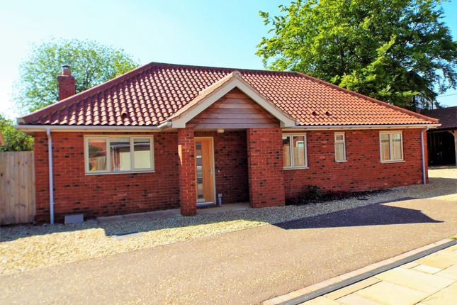 Thumbnail Detached bungalow for sale in Settlers Court, Swaffham