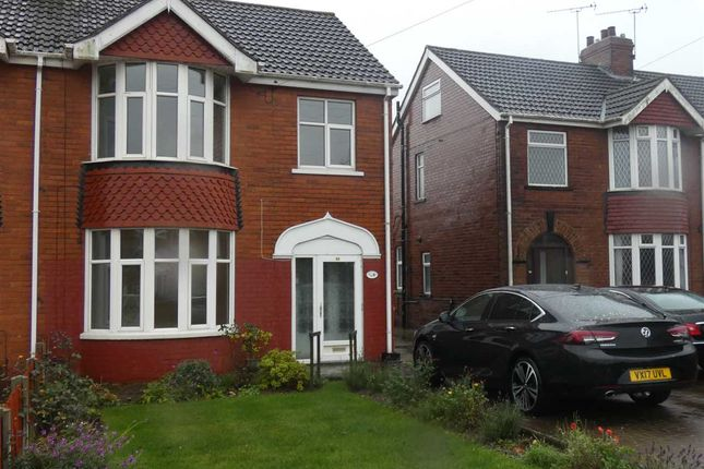 Thumbnail Semi-detached house to rent in Vicarage Gardens, Scunthorpe