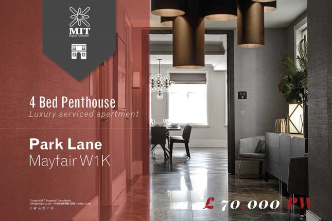 4 bedroom penthouse to rent in Park Lane, London