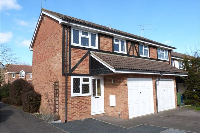 Thumbnail End terrace house to rent in Statham Court, Bracknell, Berkshire