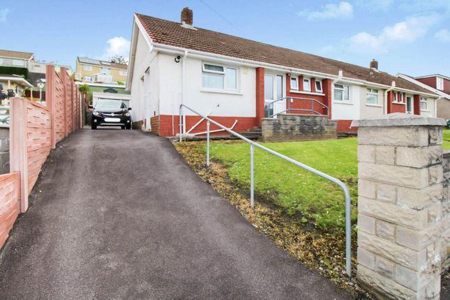 Thumbnail Semi-detached bungalow for sale in Trallwn Road, Swansea