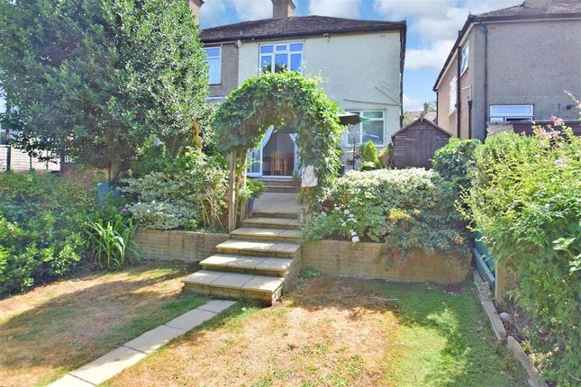 Thumbnail Semi-detached house for sale in Bandon Rise, Wallington, Surrey