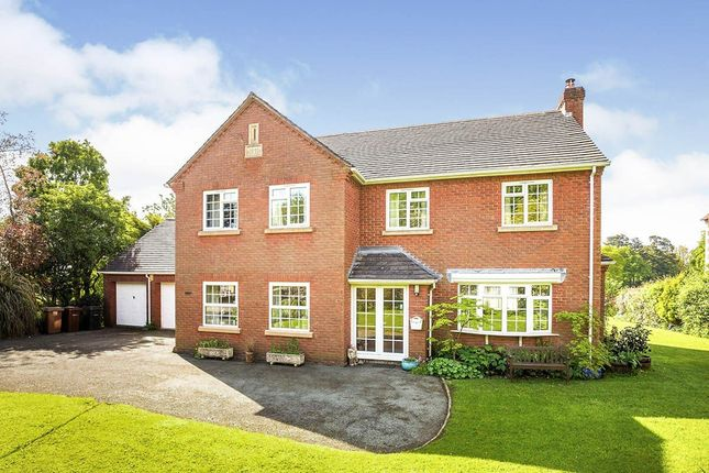Thumbnail Detached house for sale in Broomhall Lane, Oswestry, Shropshire