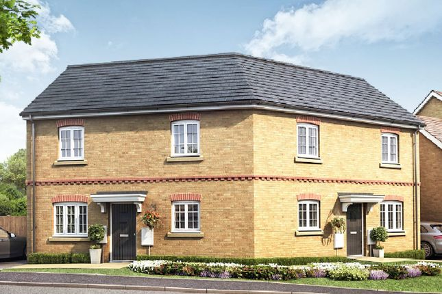 Thumbnail Semi-detached house for sale in Fen Lane, Sawtry, Huntingdon