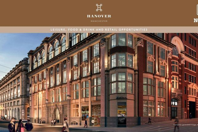 Thumbnail Leisure/hospitality to let in Hanover, Corporation Street, Manchester
