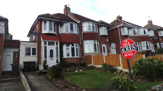 Thumbnail Semi-detached house for sale in College Road, New Oscott, Sutton Coldfield