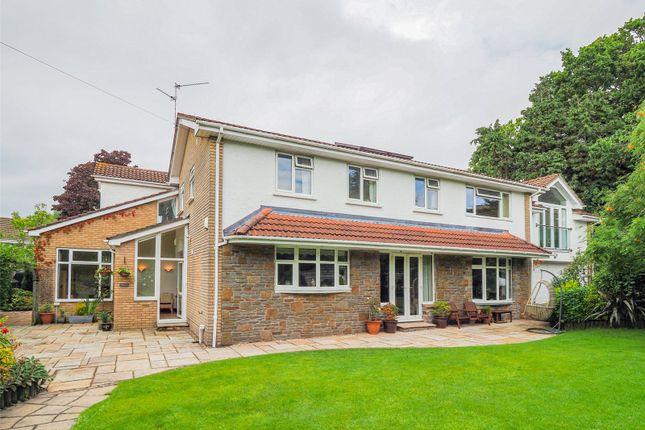 Detached house for sale in Brynteg Close, Cyncoed, Cardiff