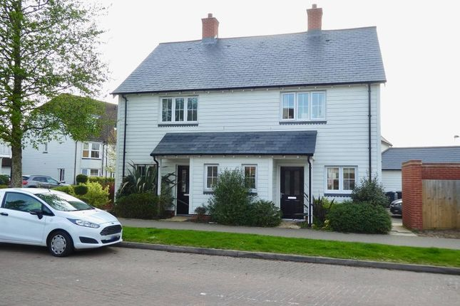 Thumbnail Semi-detached house to rent in Discovery Drive, Kings Hill, West Malling