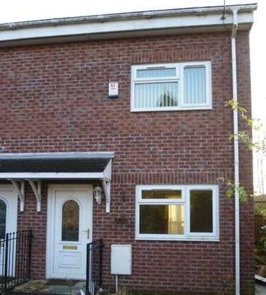 Thumbnail Town house to rent in Boulters Close, Middleton, Manchester
