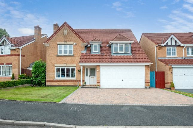 Thumbnail Detached house for sale in Coalport Walk, St Helens