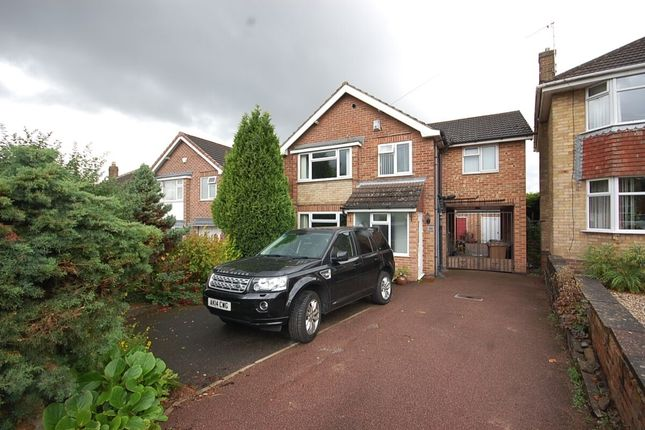 Thumbnail Detached house to rent in Birchover Way, Allestree, Derby