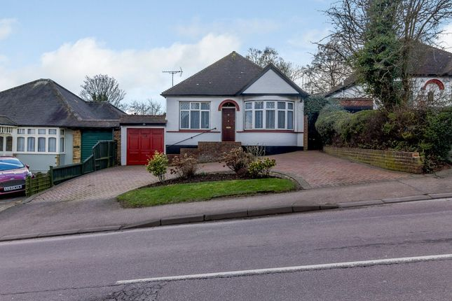 Thumbnail Detached bungalow for sale in Plough Hill, Cuffley, Hertfordshire