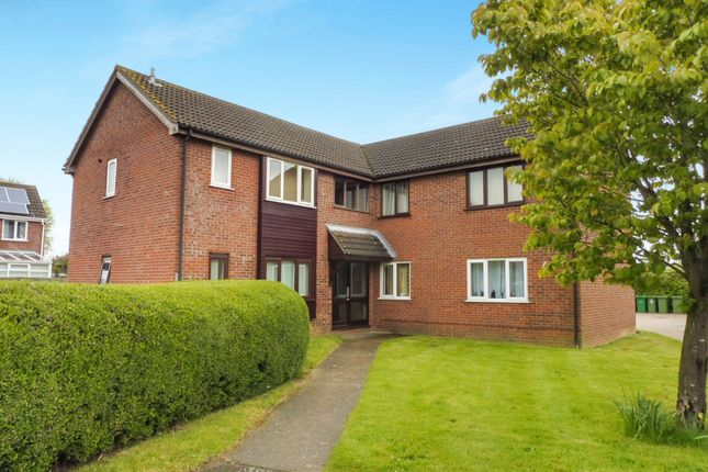 Thumbnail Flat for sale in Steward Close, Wymondham