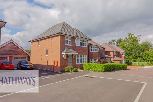 Thumbnail Detached house for sale in The Maltings, Llantarnam, Cwmbran