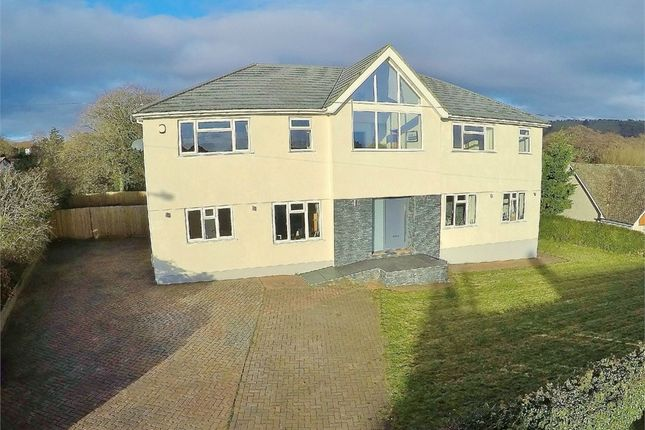 Thumbnail Detached house for sale in Rudry Road, Lisvane, Cardiff
