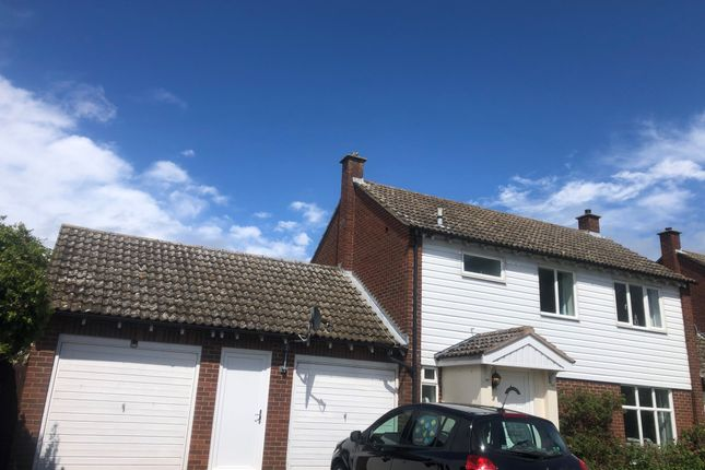 Thumbnail Link-detached house to rent in Clopton Drive, Long Melford, Sudbury