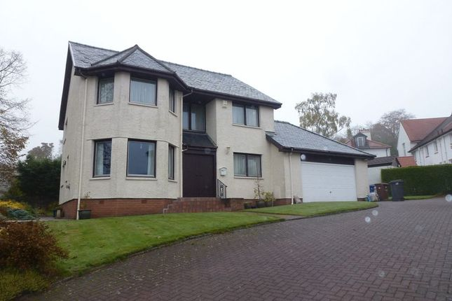 Thumbnail Detached house for sale in Barrs Brae, Kilmacolm
