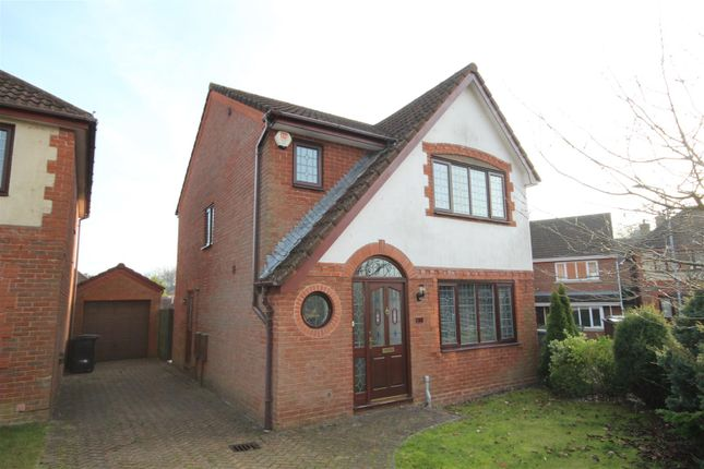 Thumbnail Detached house for sale in Pipit Meadow, Ridgewood, Uckfield