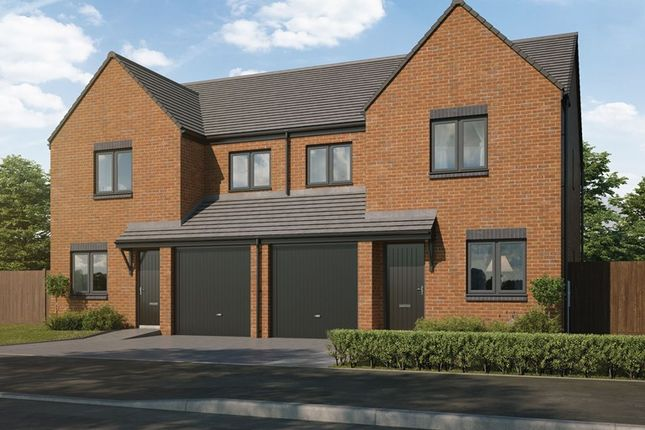 Thumbnail Semi-detached house for sale in Havannah Park, Coach Lane, Hazlerigg, Northumberland