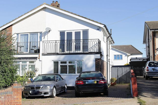 Thumbnail Semi-detached house for sale in Thundersley Church Road, Benfleet