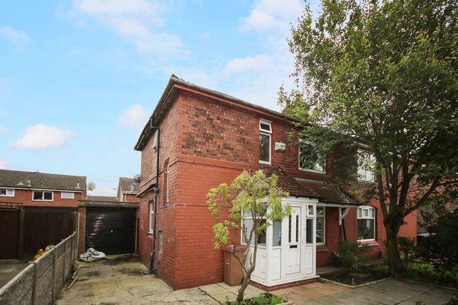 Thumbnail Semi-detached house for sale in Peelwood Avenue, Little Hulton, Manchester