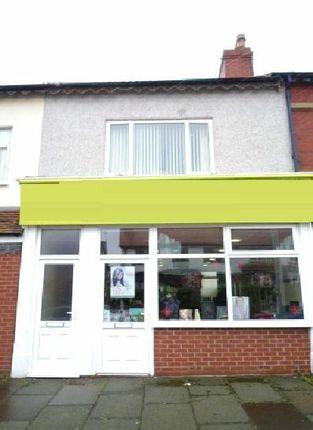 Thumbnail Retail premises for sale in Poulton Road, Fleetwood