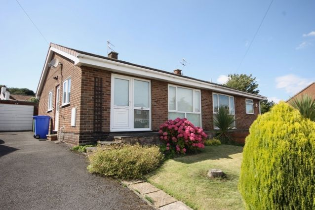 Thumbnail Semi-detached bungalow for sale in Rowedale Close, Hunmanby, Filey