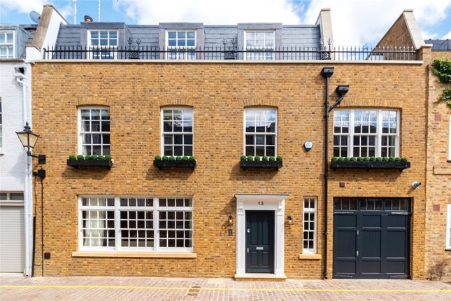 Thumbnail Mews house for sale in Coleherne Mews, London