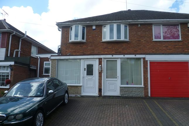 Thumbnail Semi-detached house for sale in Perry Park Crescent, Great Barr, Birmingham