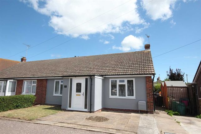Thumbnail Bungalow for sale in Heather Close, Clacton-On-Sea