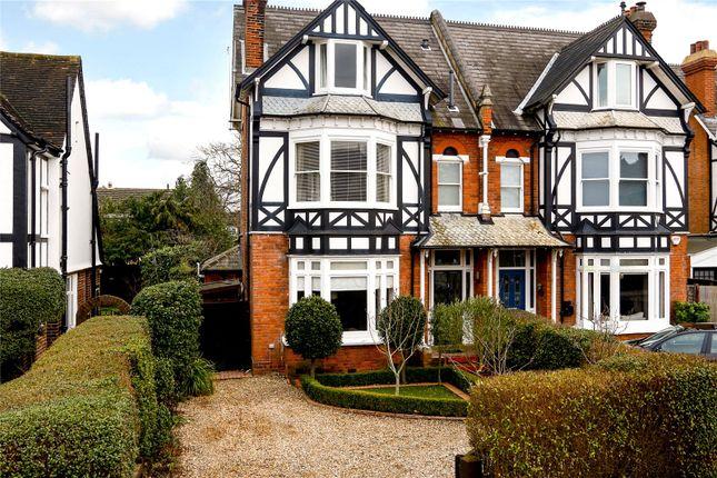 Thumbnail Semi-detached house for sale in Cranes Park, Surbiton
