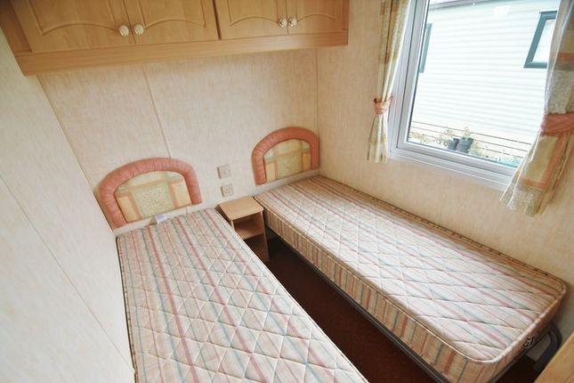 Twin Bedroom of Ocean Edge Holiday Park, Heysham LA3