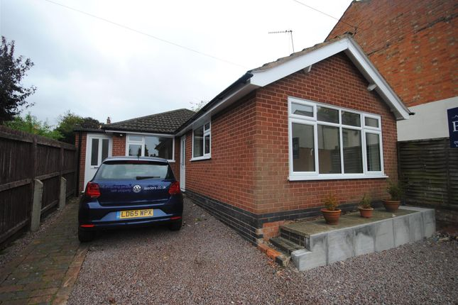 Thumbnail Detached bungalow to rent in Nursery Lane, Quorn, Loughborough