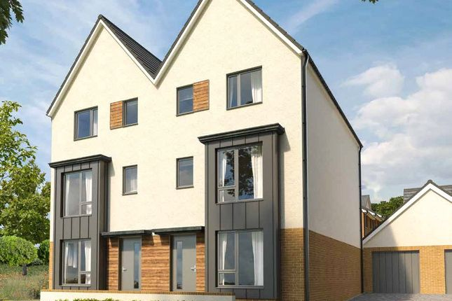 Thumbnail Semi-detached house for sale in Llantrisant Road, Cardiff