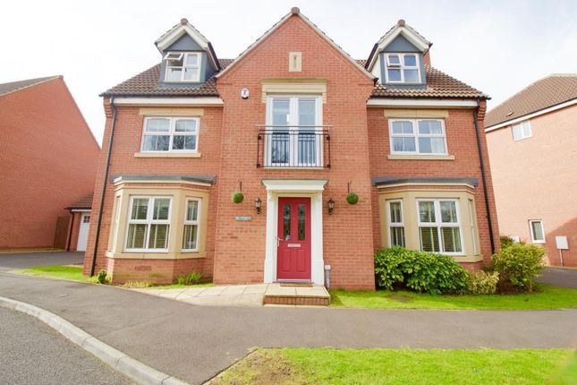 Thumbnail Detached house for sale in Thornborough Way, Hamilton, Leicester