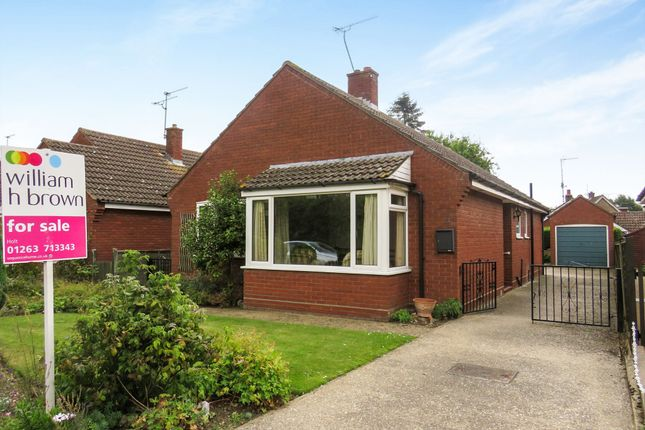 Thumbnail Detached bungalow for sale in Meadow Close, Holt