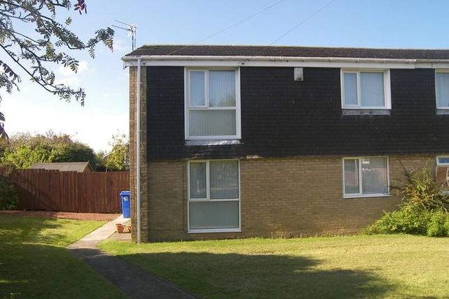 Thumbnail Flat to rent in Pecket Close, Blyth
