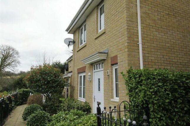 Thumbnail End terrace house to rent in Woodside Drive, Newbridge, Newport