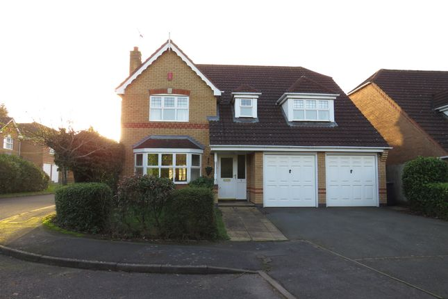 Thumbnail Detached house for sale in Whitehead Grove, Balsall Common, Coventry