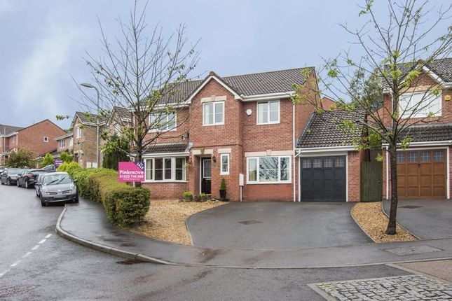 5 bed detached house for sale in Dorallt Way, Henllys, Cwmbran