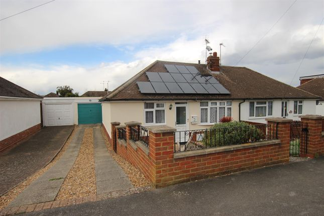 Thumbnail Semi-detached bungalow for sale in Macaulay Road, Luton