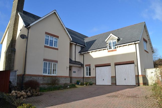 Thumbnail Detached house for sale in Dukefield, Three Crosses, Swansea