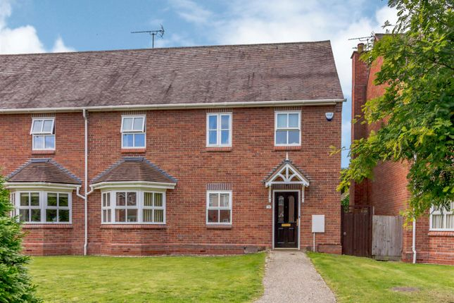 Thumbnail End terrace house for sale in Woodfield Gardens, Belmont, Hereford