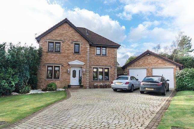 Thumbnail Detached house for sale in Croy, Stewartfield, East Kilbride