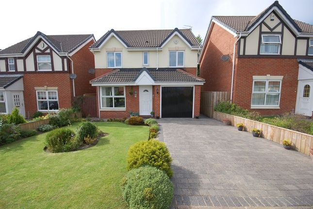Thumbnail Detached house for sale in Bede Close, Holystone, Newcastle Upon Tyne