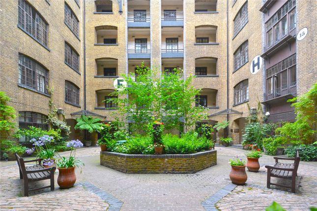 Exterior of Telfords Yard, London E1W