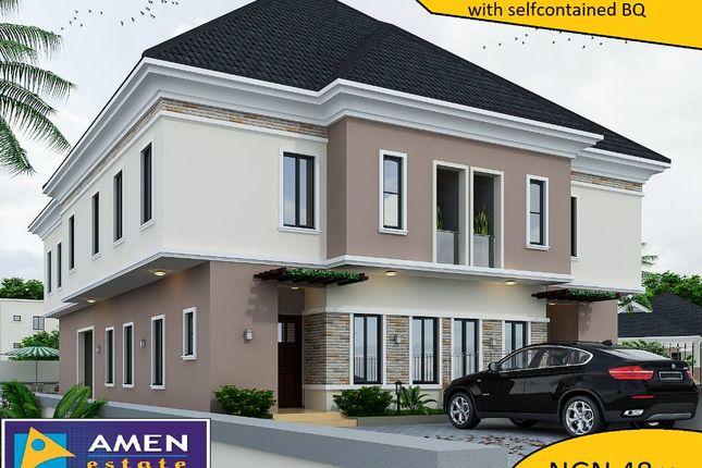 Thumbnail Semi-detached house for sale in Amen Estate Phase 2, Eleko Beach Road, Ajah, Ibeju Lekki, Lagos